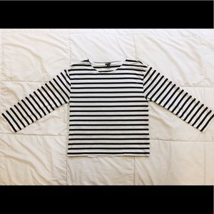 J. Crew Striped Long Sleeve Shirt Size XS